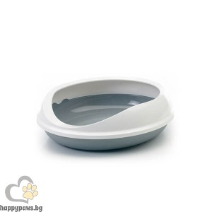 Savic Котешка тоалетна Figaro с висок борд и модерен дизайн