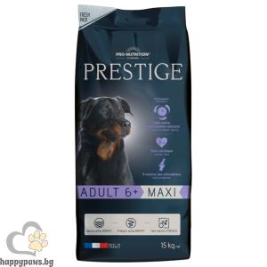 Flatazor - Prestige Adult Maxi 6+ - пълноценна храна за кучета едри и гигантски породи над 6 години 15 кг
