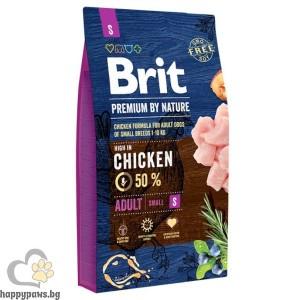 BRIT - PREMIUM ADULT S суха храна за кучета, над 12 месеца, от малки породи
