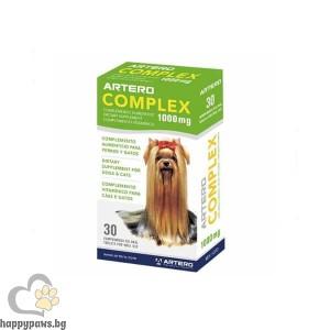 Artero Complex за кожа и козина на кучета и котки 1000 мг, 30 таблетки