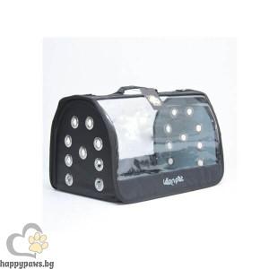 Dubex Leon Open Fly Транспортна чанта за куче или коте - 42 х 26 х 26 см, различни цветове