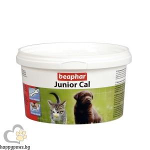 Beaphar Junior Cal - Калций на прах за кученца и котенца, 200 гр
