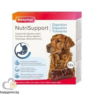 Beaphar NutriSupport Digestion Dog - Желирани капсули за кучета за добро храносмилане