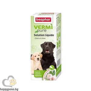 Beaphar Intestinal - сироп за кучета срещу паразити, 50 мл