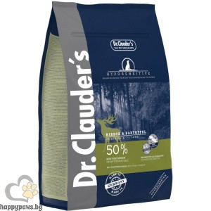Dr. Clauders - Best Choice Super Premium Hyposensitive All Breed Venison & Potato, суха храна еленско и картофи, подходяща за всички породи кучета над 12 месеца, различни разфасовки.