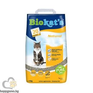 Biokat's Natural - натурална котешка тоалетна, 5 кг