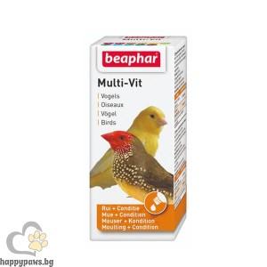 Beaphar Bird Multi-Vit Мултивитамини за декоративни птици, 20 мл