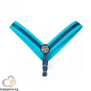 Max Molly H-Harness Q-Fit Blue Нагръдник за кучета в син цвят, XL - размер