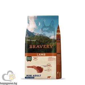 Bravery - Grain Free Adult Large/Medium Breeds суха храна за израснали кучета над 1 година от дребни породи с различни вкусове, 4 кг