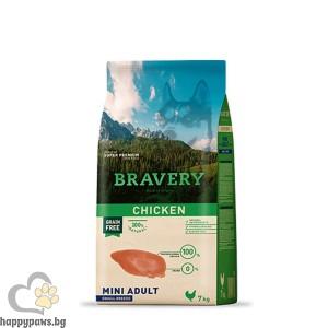 Bravery - Grain Free MINI Adult пилешко месо