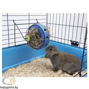 Savic Играчка-хранилка Bunny Toy за сено + отделение за снаскс