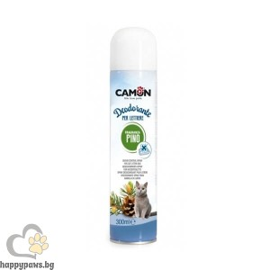 Camon - Спрей-дезодорант за котешка тоалетна, 300 мл