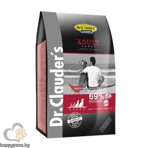 Dr. Clauders - Super Premium Large Breed Adult суха храна с пилешко месо, за кучета големи и гигантски породи над 25 кг. над 18 месеца, различни разфасовки.