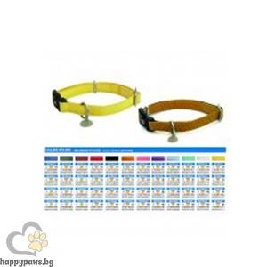 Croci - Vanity нашийник, черен, регулируем, 20 - 30 см х 10 мм