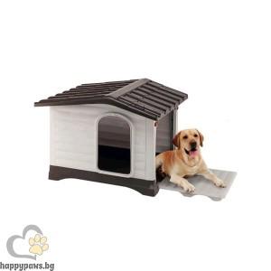 Ferplast Пластмасова къща за куче Dogvilla, различни размери