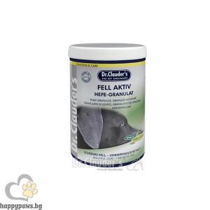 Dr. Clauder's - Fell Aktiv Hefe Granulat гранули с мая за здрави кожа и козина