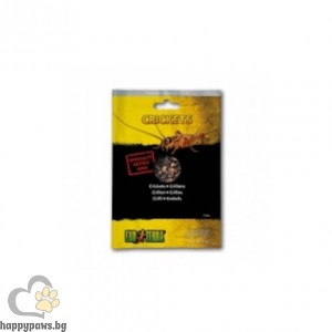 Exo Terra - Щурци във вакуумна опаковка, 15 гр