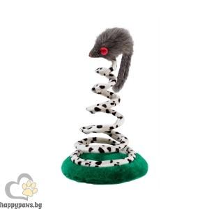 Ferplast - Играчка за котка мишка на спирала