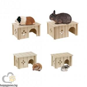 Ferplast - Дървена къщичка за гризачи, различни размери