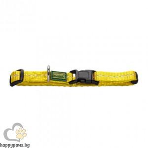 Hunter Нашийник Tripoli VB със светлоотразител - жълт, различни размери