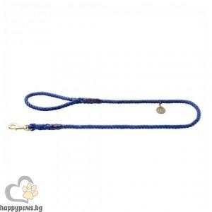 Hunter Повод за куче List - въже в тъмно син цвят, 140 см