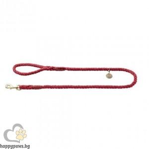 Hunter Повод за куче List - въже в цвят бордо, 140 см