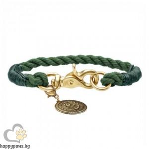 Hunter Нашийник - въже List в цвят маслина, различни размери