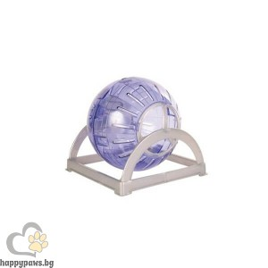 TRIXIE Въртележка топка Макси за мишки и хамстери, 18 см