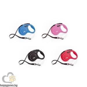 Flexi Classic - автоматичен повод въже за кучета от различни килограми, различни дължини