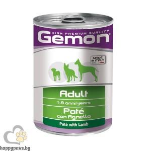 GEMON - PATE DOG ADULT LAMB 400 g - пастет с агнешко