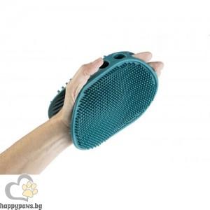 GimDog - Двустранна четка-ръкавица за кучета, котки и гризачи