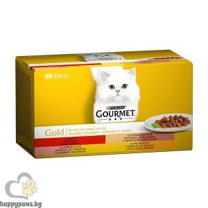 Gourmet - Gold месни хапки в сос нова опаковка