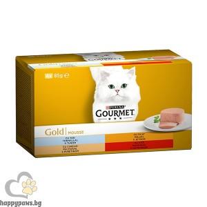 Gourmet - Gold Mousse нова опаковка