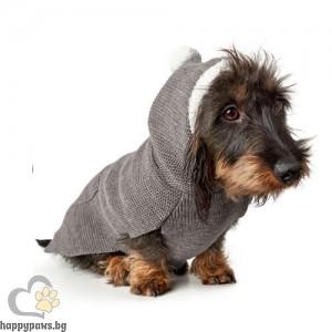 Hunter Пуловер с качулка Rögla - сиво, различни размери