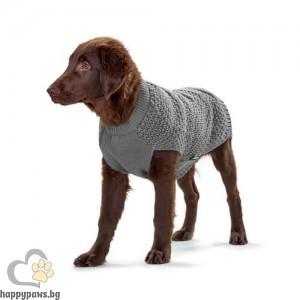 Hunter Пуловер за кучета Malmö - сиво, различни размери