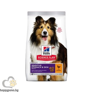 Hill's - Dog Adult Sensitive Stomach & Skin пиле