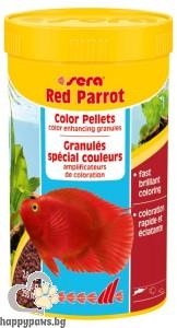 sera - Red Parrot - храна за рибки червен папагал, 20 гр.