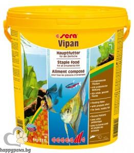 sera - Vipan - основна храна за рибки за всекидневна употреба, 20 л.