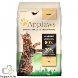 Applaws - Adult Chicken Cat суха храна за котки над 12 месечна възраст, с пилешко месо, без глутен