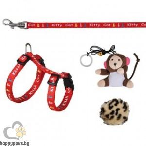 TRIXIE - Комплект за котка Рейнбол с играчки