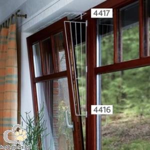 TRIXIE - Предпазни решетки за прозорец, странична