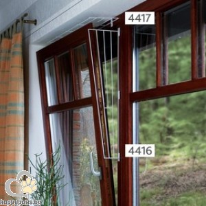 TRIXIE - Предпазна решетка за прозорец, горна
