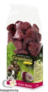 JR Farm - Беззърнена допълваща храна за гризачи с цвекло, 140 гр.