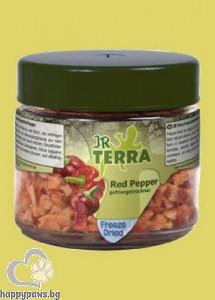 JR Farm - Замразени и сушени червени чушки, 10 гр.
