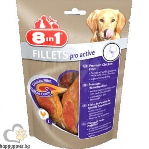 8in1 - Пилешки филенца Pro Active S за увеличаване на жизнеността