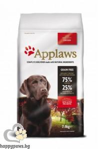 Applaws - Adult Large Breeds суха храна за кучета големи и гигантски породи, над 18 месеца, 7.5 кг. с пилешко