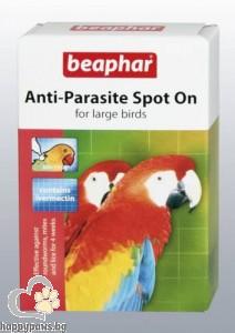 Beaphar - Anti-Parazite spot - on противопаразитни капки за едри птици