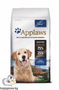 Applaws - Lite Adult All Breeds суха храна за кастрирани кучета или кучета с наднормено тегло,за всички породи над 12 месеца, 7.5 кг. с пилешко