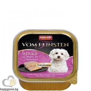 Von Feinsten - пастет за кучета 2 в 1, 150 гр. различни вкусове