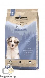 Chicopee - Classic Nature - Puppy суха храна за малки кученца с агне и ориз, 2 кг.